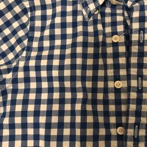 Abercrombie & Fitch Shirts - Blur& White buffalo check Abercrombie button up
